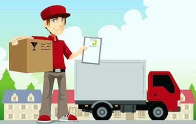 giao hàng vận chuyển