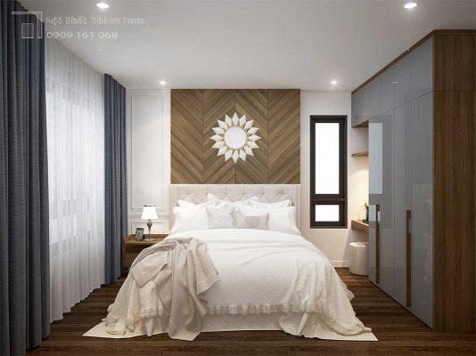 phòng ngủ bán cổ điển