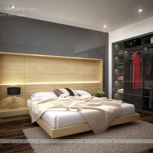 phòng ngủ hiện đại camelia