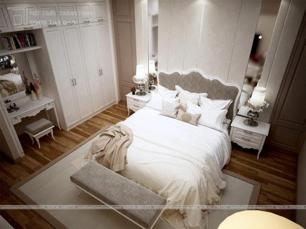 phòng ngủ cổ điển pansy