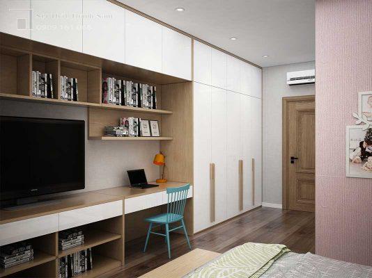 phòng ngủ nội thất căn hộ