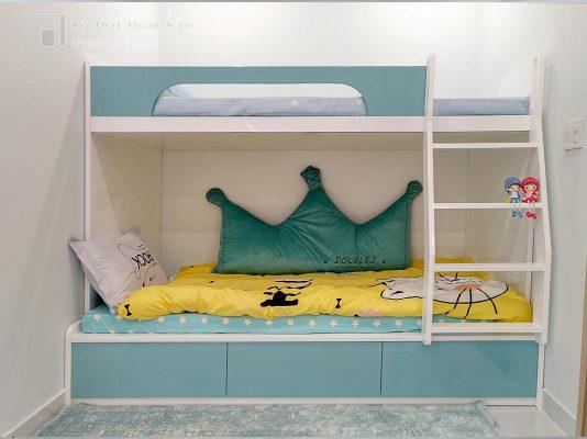 phòng bé trai căn hộ 1 phòng ngủ Loveravista Khang Điền