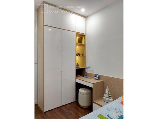 thi công dự án loveravista khang điền căn hộ 3 phòng ngủ