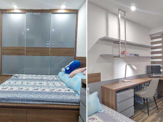căn hộ 2 phòng ngủ hà đô